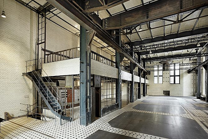 Eventlocation-Industrie-ewerk-Berlin-Halle C-Blick Ost-quer-quer